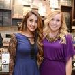 12b Nadia Khan, left, and Marissa Cilento at the Cacao & Cardamom party November 2014