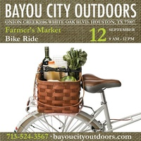 Bayou City Outdoors Farmer's Market Bike Ride