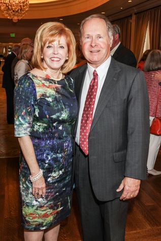 Bette and Ralph Thomas at the Hospice Spirit Award dinner October 2014