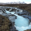 Tarra Gaines Iceland December 2014 Bruarfoss 1