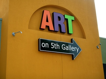 Austin photo: Places_Arts_Art_on_5th_Gallery_Exterior