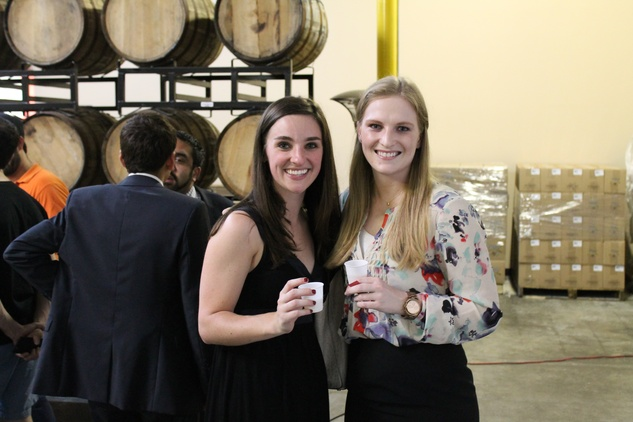 Houston, Houston Young Lawyers and South Asian Bar Associations YP Event, June 2015, Betsy Stukes, Kacy Shindler.