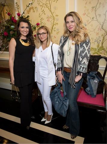 Kimberly Schlegel Whitman, Nasiba Adilova, Dina Arnott, Ylang 23's Irene Neuwirth event