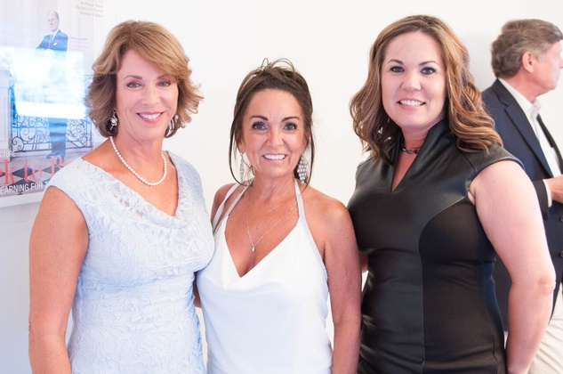 Houston, Engel and Völkers Launch Party, June 2015, Gaye Woodward , Sandy Abrant, Angela Kinnar