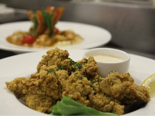 Amberjax restaurant at Trinity Groves in Dallas