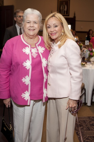223 Pat Pontierre, left, and Judi McGee at the Hope and Healing Center luncheon May 2014
