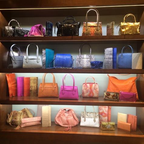 Kate Falchi handbags at Elizabeth Anthony