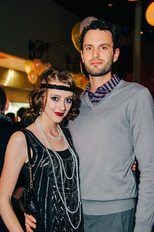 Kimberly Owens and Allen Grimes at New Year's Eve at Local Pour January 2015