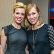 Katie Flaherty, left, and Christa Nichols at the Young Professionals Backstage party January 2014