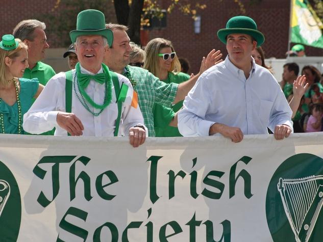 St. Patrick's Day Parade Houston, March 2013, The Irish Society