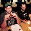 Daniel Vaughn, Aaron Franklin and Justin Fourton at Meat Fight in Dallas