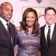 Kevin Frazier, Cheryl Jackson, Brad Bessey, Minnie's Food Pantry