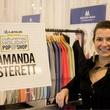 Amanda Sterett at CultureMap Holiday Pop-up Shop 2014