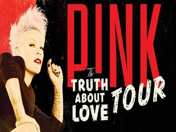 P!nk in concert: &quot;The Truth About Love Tour&quot;