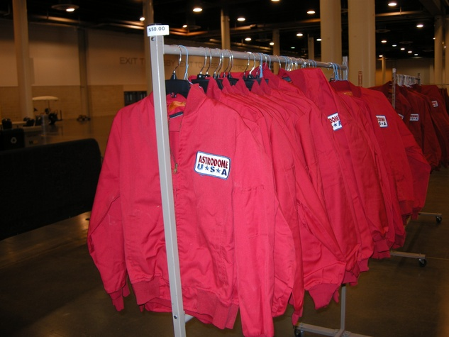 Alamodome auction and sale preview November 2013 red jackets