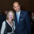 Pam Lovett and John Rolfe at the Center for Houston's Future luncheon March 2015