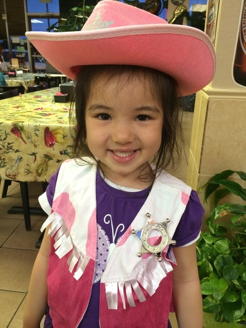 Go Texan Day February 2014 little girl submitted photo