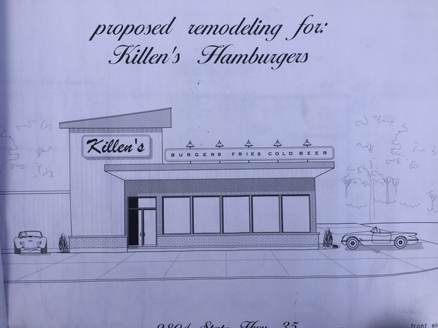 Killen's Burger rendering
