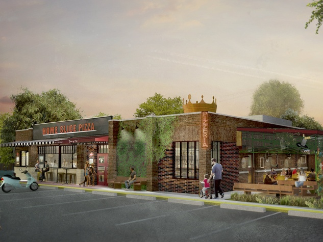 Home Slice Pizza North Loop rendering