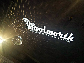 Disco ball at The Woolworth in Dallas