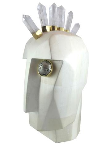 Kelly Wearstler home head sculpture