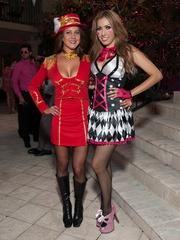 026_Party in Pink, Hotel ZaZa, July 2012, Iveth Diaz, Julia Larson