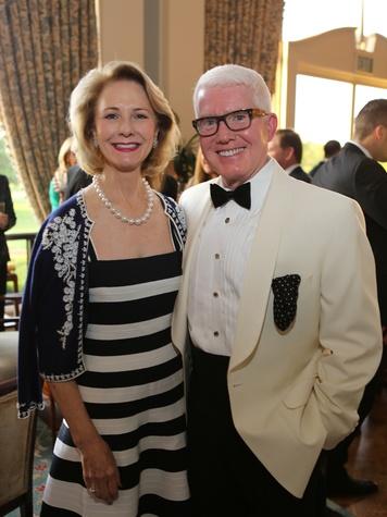 Fran Fawcett Peterson and Lary Barton at the CancerForward Gala May 2014