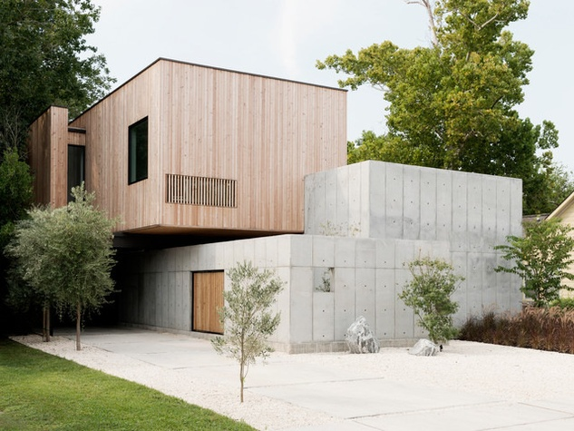 Step inside Houston architect couple\'s minimalist Heights home ...
