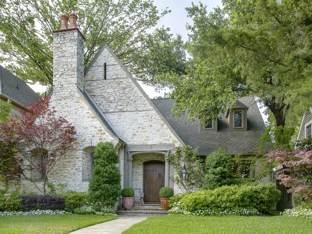 The next owner of this home benefits from top dallas for Authentic english cottage house plans