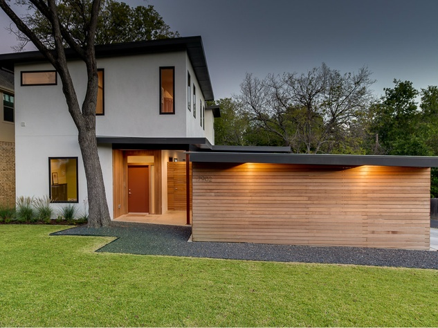 Dallas Homebuilding Duo Lets The Light Into Modern Texas
