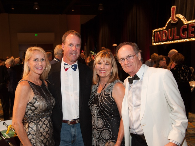 Courtney and David Cook, from left, and Barbara and Bob Watson at the Northwest Ministries Gala October 2013
