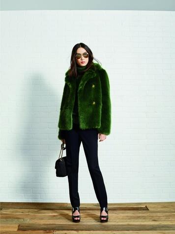 Michael Kors faux fur coat