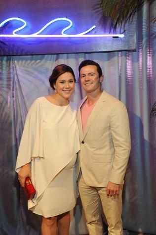 Krystal and Garrett Thompson at Children's Museum Gala