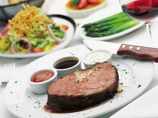 Fleming's, steak, prime rib, salad
