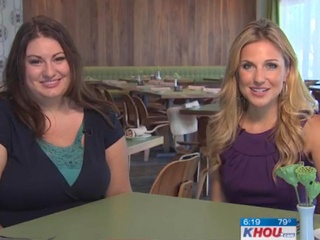 KHOU, Sarah Rufca, Houston Restaurant Weeks, CultureMap Moment, July 2012