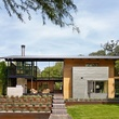 Austin house home Houzz modern Lake Austin exterior