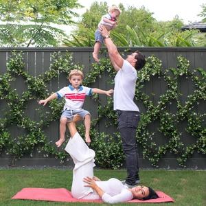 Brian Cushing and family