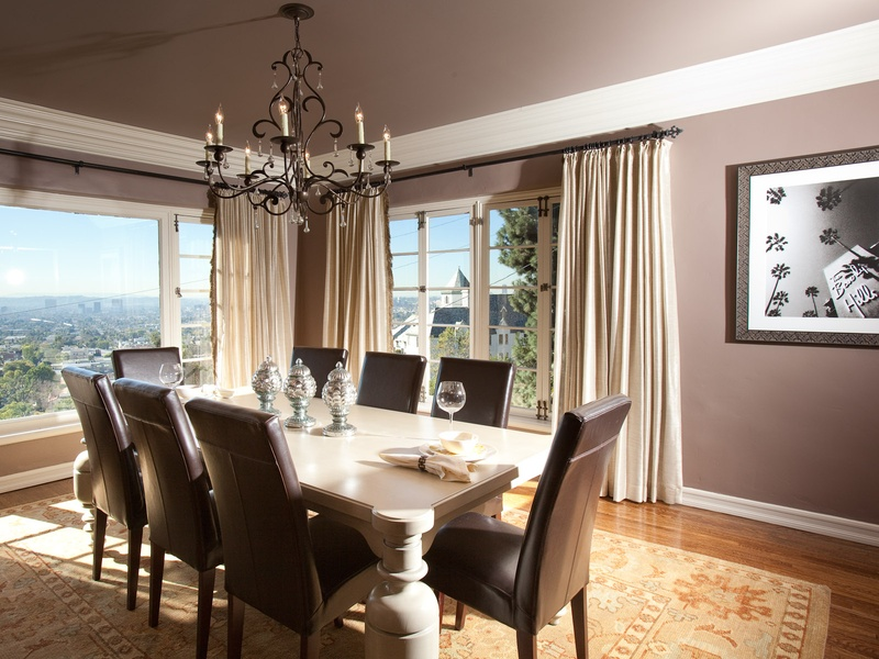 5, Laura U Interior Design Studio, Houston,  Destination Interiors,  Hollywood Hills, dining room