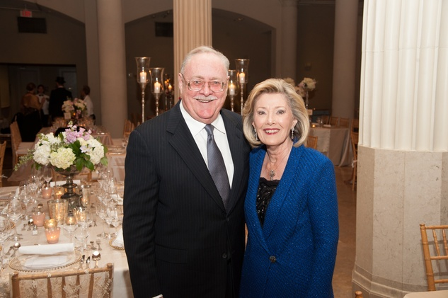 Jordan and Paula Paust at The Women's Home Gala November 2014