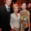 Ballet On Stage Dinner 6/16 Jared Matthews, Margaret Williams, Yuriko Kajiya_Photo by Gary Fountain.
