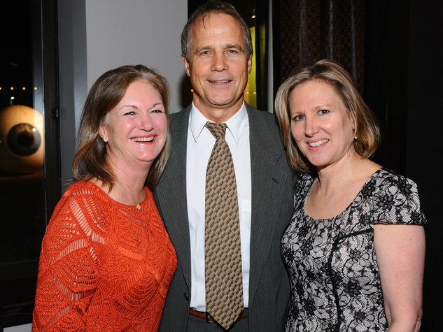Mary Cook, Dan Patterson, Wendy Strick at Nasher 10th anniversary
