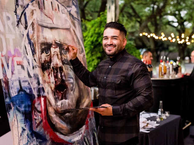 Houston, SportsMap launch party, October 2017, Franky Cardona