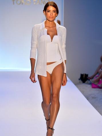 Mercedes-Benz Fashion Week swim 2014 July 2013 Poko Pano
