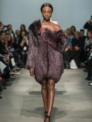 Clifford Fashion Week New York fall 2015 Rolando Santana February 2015 look 22