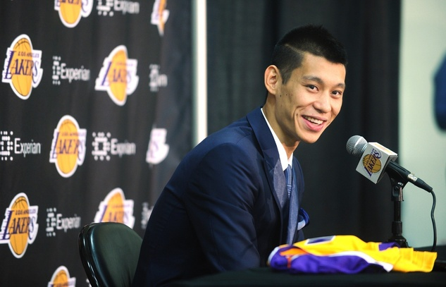 Jeremy Lin Lakers intro