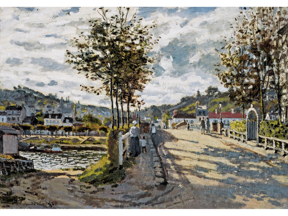 MFAH Monet and the Seine Impressions of a River October 2014 Claude Monet - The Seine at Bougival