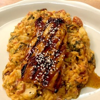 Kenny and Ziggy's deli month grilled salmon