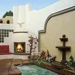 Pool and spa at El Rey Inn in Santa Fe