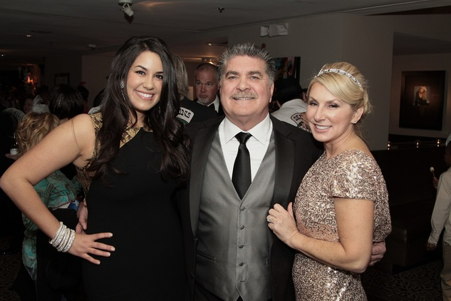289 Tiffany LaRose, left, with Albert and Carole LaRose at the Devereux Texas Gala March 2015