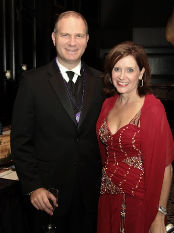 Marcus and Jennifer Vajdos at the Devereux Gala February 2014
